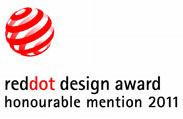 Red Dot Design Award Honourable Mention 2011